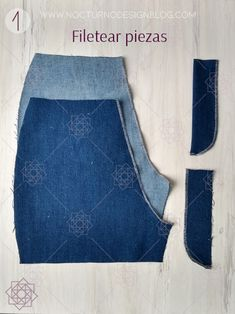 Cómo coser la cremallera para jean – Nocturno Design Blog Sewing Projects, Projects To Try, Design Blog, Pants Pattern, Little Things, Diy And Crafts, Apron, Zip, Outfits