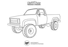 forklift | Coloring pages, School coloring pages ...