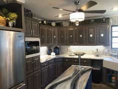 Make your kitchen come alive!  Laminate counters resurfaced by