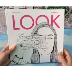 LOOK Adult Coloring Book - 94 Pages!
