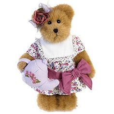 Tea Party Bailey Bear, Boyds Bear,