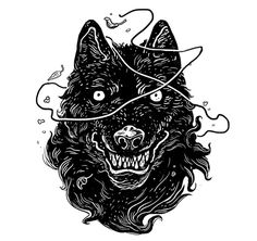 Home - gian galang gian galang в 2019 г. art, illustration a Engraving Illustration, Illustration Art, Dark Art Illustrations, Wolf Artwork, Dark Tattoo, Glitch Art, Graphic Design Typography, Aesthetic Art, Body Art Tattoos