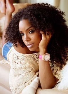 50 Best Natural Hairstyles for Black Women   herinterest.com - Part 4