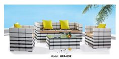 999.00$  Watch now - http://aipvi.worlditems.win/all/product.php?id=32600086354 - Modern Black White 123 Sectional Rattan Sofa 2 Chair Sofa Coffee Table Set Outside Garden Health Rattan Vine Furniture HFA032