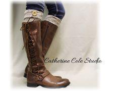 ASPEN boot cuffs - oatmeal
