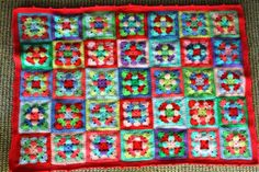 little woollie: Weekend In Stockholm Throw - Finished , tick!