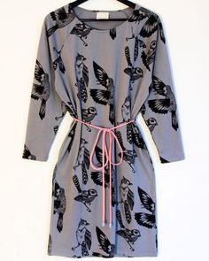 Bird mekko, Frost by Poola Kataryna Dresses With Sleeves, Style Inspiration, Bird, My Style, Long Sleeve, Design, Fashion, Dress, Moda