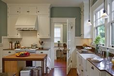 craftsman bungalow kitchens photos | Powrie Bungalow - traditional - kitchen - portland - by Craftsman ...