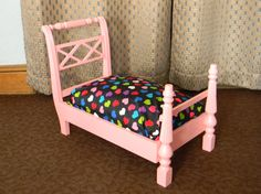 Pet Beds for Dog or Cat made from upcycled by qwirkybydesign, $200.00