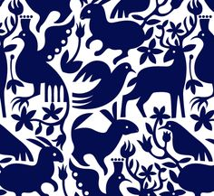 Otomi Embroidery from Tea's Travels Textile Patterns, Textile Art, Pattern Art, Pattern Design, Pattern Ideas, Tableaux D'inspiration, Mexican Pattern, Mexican Embroidery, Embroidery Patterns