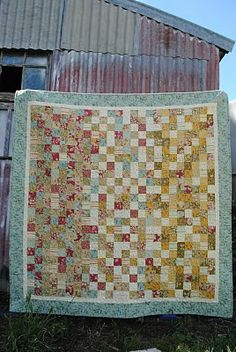 Jelly Roll Quilt ... and I have two jelly rolls coming in the mail any day now!