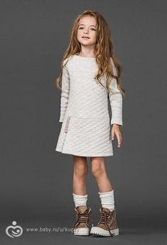 платье из капитония экрю