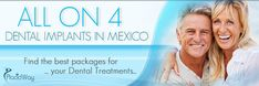 Find dental implants at affordable prices in exotic Mexican locations! See here what we have prepared for your dental health and how to benefit from an ear to ear smile with relaxing dental vacation. Oral Health, Dental Health, Dental Care, Dental Implant Surgery, Teeth Implants, Dental Bridge Cost, Dentist Day, Dental Crowns, Teeth Care