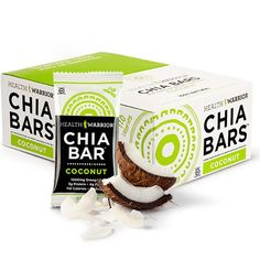 Health Warrior Chia Bars, Coconut, 13.2-Ounce (Pack of 15) - http://goodvibeorganics.com/health-warrior-chia-bars-coconut-13-2-ounce-pack-of-15/