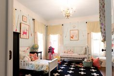 Lay Baby Lay shared kid room, baby and toddler