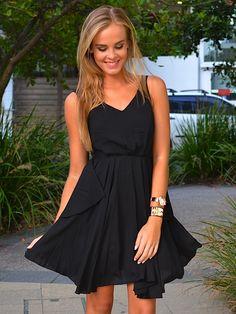 little black dress - casual