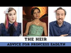 The Heir | Advice for Princess Eadlyn - so yes take it down a notch, almost everyone had told you that you are a spoiled little brat, there is probably a reason the country doesn't like you. Or just get the cats.