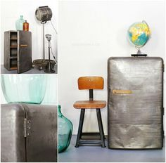 Industrial Chic meets Retro Style