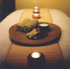 Massage. I like Swedish and hot stone, so far. It just might be the most soothing thing in the world.
