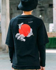 Japanese Long Sleeve T-Shirt