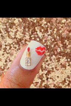 Nail's kissawesome nail art