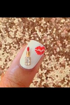 Nail's kissawesome nail art