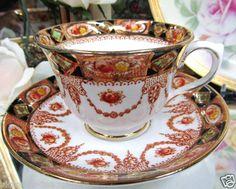 Royal Albert Teacup Imari Pattern Tea Cup and Saucer | eBay