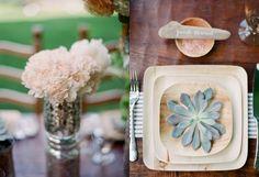 Fiesta Résistance - a party + DIY online magazine: Stylish Eco Friendly Wedding Feature