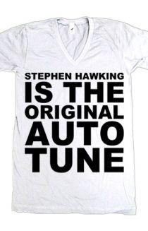 Stephen Hawking Is the Original Autotune. <3