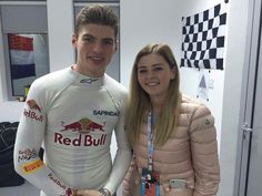 Max and his younger sister Victoria, Bahrein 2016