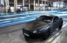 Matte Black Aston Martin DB9
