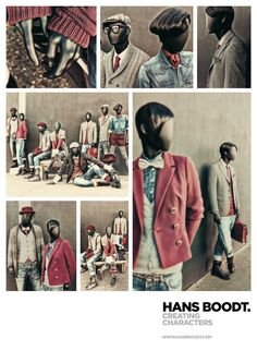 Casual Abstract Collection by @Hans Boodt Mannequins