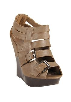 my feet luv wedges :) Cute Wedges, Tan Wedges, Brown Wedges, Shoes Heels Wedges, Wedge Shoes, Cute Shoes, Me Too Shoes, Crazy Shoes, Fashion Shoes