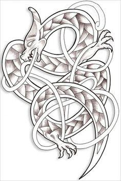 Celtic dragon.                                                                                                                                                                                 Más