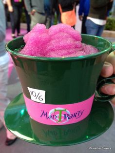 disneyland food First Look: Mad T Party Drinks and Eats at Disney California Adventure Disney Desserts, Disney Snacks, Disney Trips, Comida Disneyland, Best Disneyland Food, Disneyland 2015, Disneyland Halloween, Walt Disney World, Disney World Food