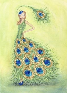 Bella Pilar. Fashion design inspired by nature