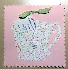 Tea Party Invitation via Flickr