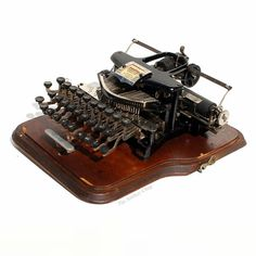 Antique Postal No.5 Typewriter with Case ca.1905 by TheAntikeyChop