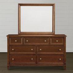 Dresser by Bassett Furniture Bedroom Dresser Styling, Bedroom Chest, Bedroom Dressers, Chest Furniture, Bedroom Furniture, Durham Furniture, Cleaning Cabinets, Solid Wood Dresser, Clean Bedroom