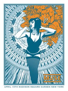 Muse New York City & Montville Posters by Brian Mercer On Sale