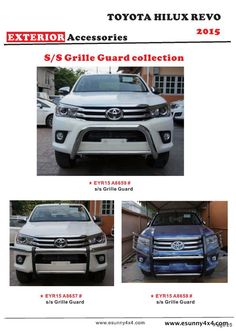 HILUX REVO 2015 S/S front grille guard