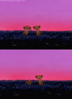 I do that when I'm in trouble too, Simba.