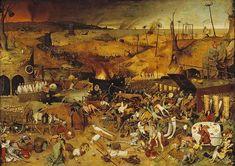 Le triomphe de la mort, par Pieter Bruegel