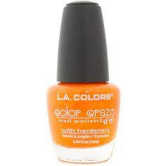 L.A. Colors Color Craze Nail Polish ($5.66) ❤ liked on Polyvore