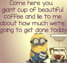 Minion coffee                                                                                                                                                      More