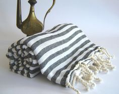 Turkish Bath Towel Handwoven Peshtemal Bath Beach by TheAnatolian, $24.00