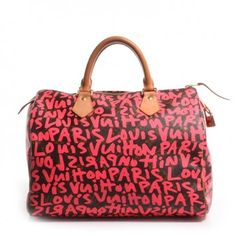 Louis Vuitton Monogram Stephen Sprouse Graffiti Speedy 30 In Fuchsia Tote Bag. Get one of the hottest styles of the season! The Louis Vuitton Monogram Stephen Sprouse Graffiti Speedy 30 In Fuchsia Tote Bag is a top 10 member favorite on Tradesy. Save on yours before they're sold out!