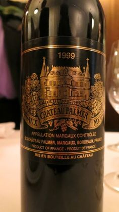 Wine Review of 1999 Château Palmer from AC Margaux, Bordeaux, France (93 pts)