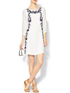 Embroidered Mini Dress Product Image $49.97