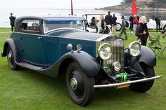 Rolls-Royce Phantom II Continental Windovers Coupe - 2011 Pebble Beach Concours…